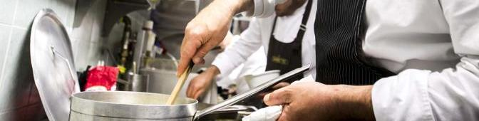 Firenze, lo chef Lapo Magni vincitore dello show La Terra dei Cuochi, al ristorante Barretto 2013-06-06 © Majlend Bramo/Massimo Sestini