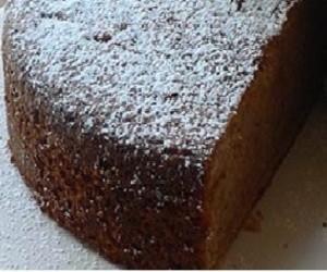 Torta-con-farina-di-castagne