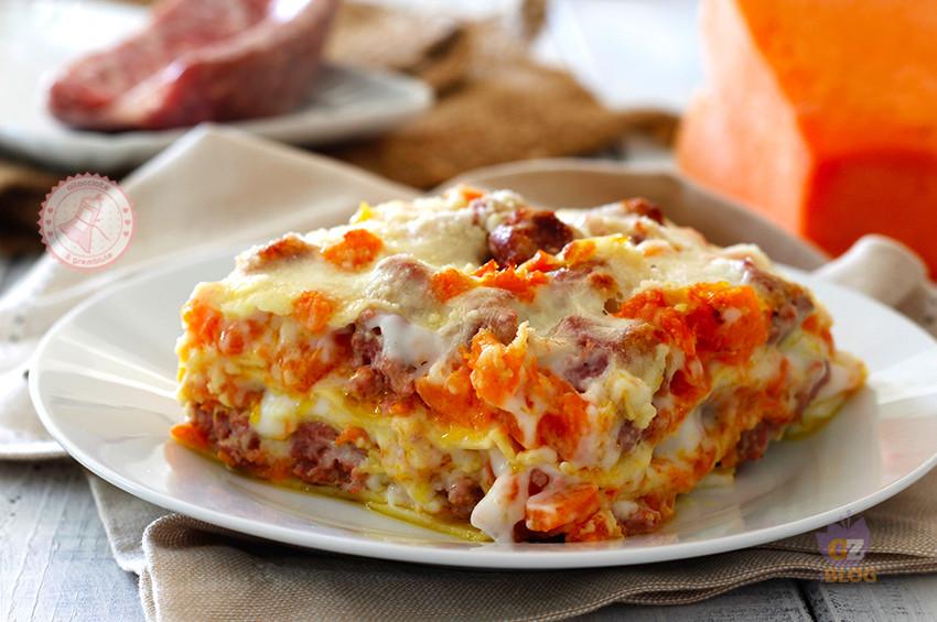 lasagne zucca